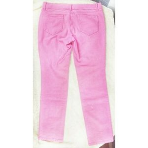 United Colors of Benetton Pink Skinny Jeans sz 12